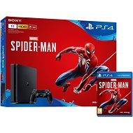 PlayStation 4 1 TB Slim + Spider-Man - ROZBALENÁ