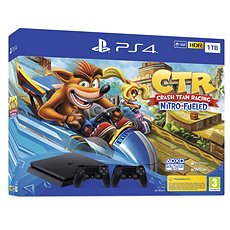 PlayStation 4 Slim 1 TB   Crash Team Racing