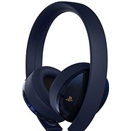Sony PS4 Gold/Navy Blue Wireless Headset – 500M Limited Edition