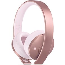 Sony PS4 Gold Wireless Headset Rose