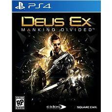 Deus Ex: Mankind Divided D1 Edition - PS4