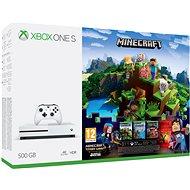 Xbox One S 500 GB Minecraft   Minecraft Story Mode 2