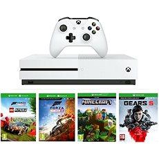 Xbox One S 1TB   Lego Forza Horizon 4   Gears 5