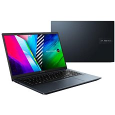 ASUS VivoBook 15 OLED M3500QC-OLED079T Quiet Blue celokovový