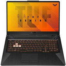 Asus TUF Gaming A17 FA706IU-H7040T Bonfire Black