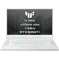 Asus TUF Gaming Dash F15 FX516PE-HN020T Moonlight White kovový