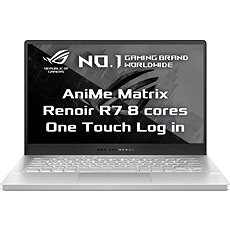 Asus ROG Zephyrus G14 Moonlight White AniMe Matrix version kovový
