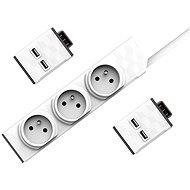 Set PowerStrip Modular 3 m cable