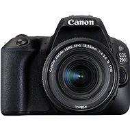 Canon EOS 200D čierny