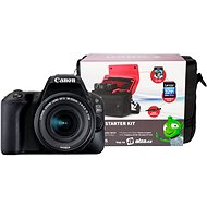 Canon EOS 200D čierny   18–55 mm IS STM
