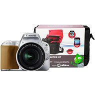 Canon EOS 200D strieborný   18–55 mm IS STM