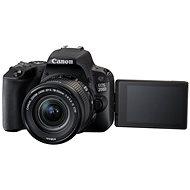 Canon EOS 200D čierny   18-55mm DC III   75-300mm DC III