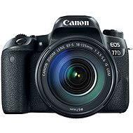 Canon EOS 77D čierny