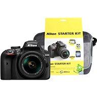 Nikon D3400 čierny   18–55 mm AF-P VR