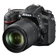 Nikon D7200 čierny   objektív 18–105 VR AF-S DX