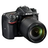 Nikon D7200 čierny   objektiv 18–140 VR AF-S DX