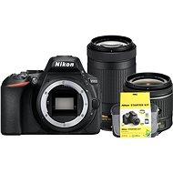 Nikon D5600   AF-P 18–55 mm VR   70–300 mm VR