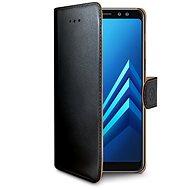 CELLY WALLY pre Samsung Galaxy A8 (2018) čierny