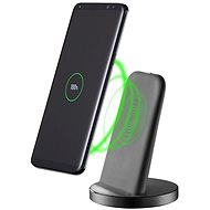 Cellularline Wireless Fast Charger Stand QI čierny