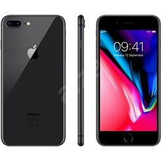 iPhone 8 Plus 128 GB vesmírne sivá