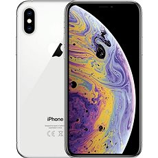 Repasovaný iPhone Xs 256 GB strieborný