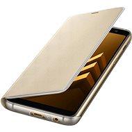 Samsung Neon Flip Cover Galaxy A8 (2018) EF-FA530P Gold