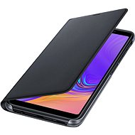 Samsung Galaxy A7 2018 Flip Wallet Cover Black