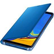Samsung Galaxy A7 2018 Flip Wallet Cover Blue