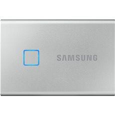 Samsung Portable SSD T7 Touch 1 TB strieborný
