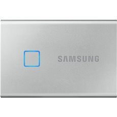 Samsung Portable SSD T7 Touch 2TB strieborný