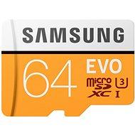 Samsung MicroSDXC 64 GB EVO UHS-I U3