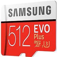 Samsung MicroSDXC 512GB EVO Plus UHS-I U3