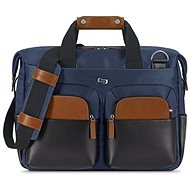 Solo Sag Harbor Briefcase Blue 15.6