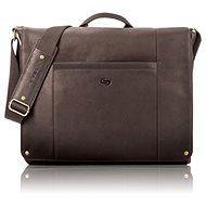 Solo Hudson Leather Messenger Espresso 16