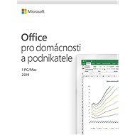 Microsoft Office 2019 pre domácnosti a podnikateľov CZ (BOX)