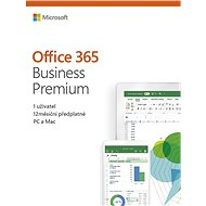 Microsoft Office 365 Business Premium Retail CZ (BOX)