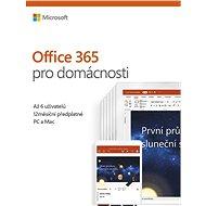 Microsoft Office 365 pre domácnosti SK (BOX)