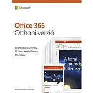 Microsoft Office 365 Home Premium HU (BOX)