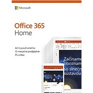 Microsoft Office 365 Home Premium SK (BOX)