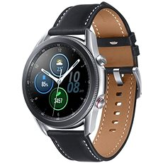 Samsung Galaxy Watch 3 45 mm LTE strieborné