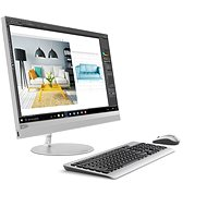 Lenovo IdeaCentre 520-24IKL Touch Silver