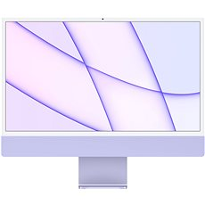 iMac 24  M1 SK Fialový
