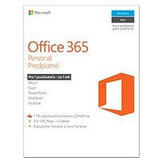 Microsoft Office 365 Personal predplatné