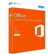 Microsoft Office 2016 pre domácnosti a podnikateľov CZ