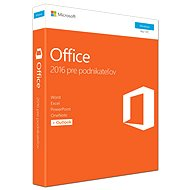 Microsoft Office 2016 Home and Business SK