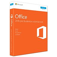 Microsoft Office 2016 Home and Student SK