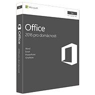 Microsoft Office Home and Student 2016 CZ pre MAC - 1 používateľ/1 počítač