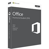 Microsoft Office Home and Student 2016 ENG pre MAC - 1 užívateľ/1 počítač