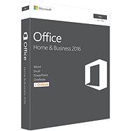 Microsoft Office Home and Business 2016 ENG pre MAC - 1 užívateľ/1 počítač