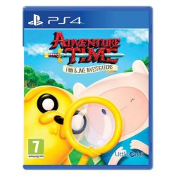 Adventure Time: Finn and Jake Investigations (Hra PS4)